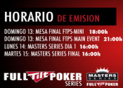 Full Tilt Master Series Madrid en directo